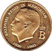 Medal - Baudouin (1930-1993) – obverse