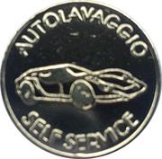 Car Wash Token - Lavaggio – obverse
