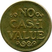 Game Token (No Cash Value; 25 mm) – reverse