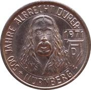 Token - Albrecht Dürer (500 anniversary; Nürnberg) – obverse