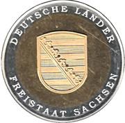 Token - Deutsche Länder Freistaat Sachsen – obverse
