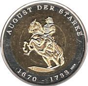 Token - Deutsche Länder Freistaat Sachsen – reverse