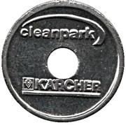Car Wash Token - Kärcher Clean Park (Schwäbisch Gmünd) – reverse