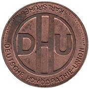 Token - German Homiopathie Union – obverse