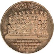 Token - 150 Years Mitteldeutscher Sängerbund – reverse