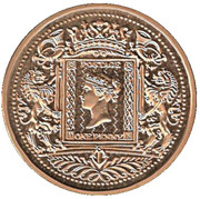 Token - 150 years Postage Stamps – obverse