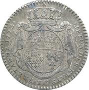 Token - Louis XV (Des Etats de Bretagne ) – reverse