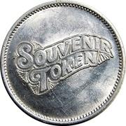 Souvenir Token - Funland (Toronto) – reverse
