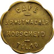 Token - Café Hutmacher (Hobscheid) – obverse