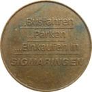 Parking Token - Sig Chip (Sigmaringen) – reverse