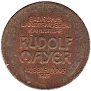 Token - Badisches Landmuseum Karlsruhe – reverse