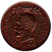 Token - George V Coronation – obverse