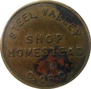 Parking Token - Steel Valley Chamber of Commerce (Homestead, Pennsylvania) – obverse