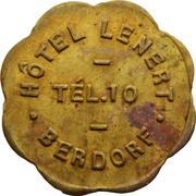 Token - Hôtel Lenert (Berdorf) – obverse