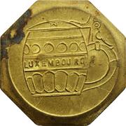 Token - Aloyse Anen (Luxembourg; countermarked