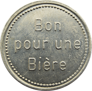 Token - Brasserie Bofferding (Bascharage) – reverse