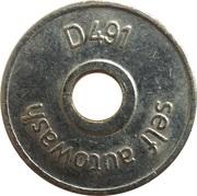 Car Wash Token - Hypromat (D491) – reverse