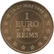1 Euro (Reims) – reverse