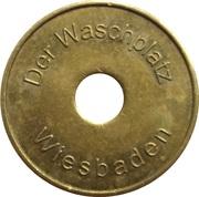 Car Wash Token - Waschplatz (Wiesbaden) – obverse