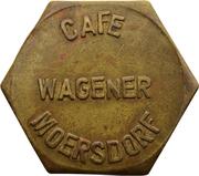Token - Café Wagner (Moersdorf) – obverse