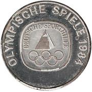 Token - Olympische Spiele 1984 – obverse