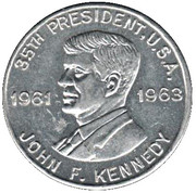 Token - John F. Kennedy (35th President) – obverse