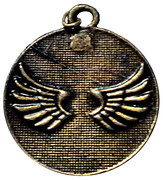 Religious Medal - Protection for Cars of the Guardian Angel – obverse