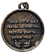 Religious Medal - Protection for Cars of the Guardian Angel – reverse
