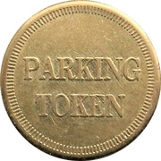 Parking Token - City of Brantford (Ontario) – reverse