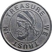 Token - Treasure We Trust In – obverse