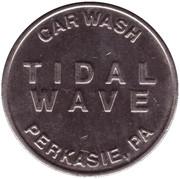 Car Wash Token - Tidal Wave (Perkasie, Pennsylvania) – obverse