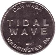 Car Wash Token - Tidal Wave (Perkasie, Pennsylvania) – reverse