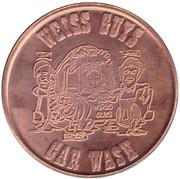 Car Wash Token - Weiss Guys Vacuum (Phoenix) – obverse