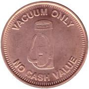 Car Wash Token - Weiss Guys Vacuum (Phoenix) – reverse