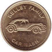 Carwash Token - Kelley Family (Chandler) – obverse