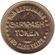 Carwash Token - Kelley Family (Chandler) – reverse