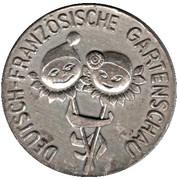 Token - Deutsch-Französische Gartenschau – obverse