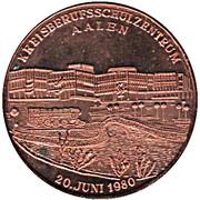 Token - Kreisberufsschulzentrum Aalen (Copper) – reverse