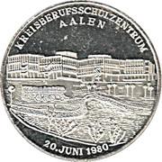 Token - Kreisberufsschulzentrum Aalen (Silver) – reverse