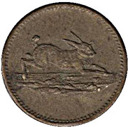 Token (Rabbit and Deer) – obverse