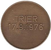 Token - Trier 17.9.1976 – reverse