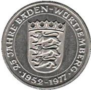 Token - 25 Years Baden-Württemberg – obverse