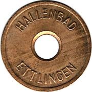 Public Swimming Pool Token - Ettlingen (youth) – obverse