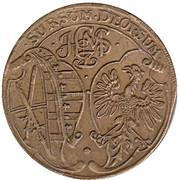 Counter Token - Johann Georg II (Rechenpfennig; Saxony) – obverse