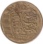 Counter Token - Johann Georg II (Rechenpfennig; Saxony) – reverse