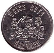Car Wash Token - Weiss Guys (Phoenix) – obverse