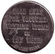 Car Wash Token - Weiss Guys (Phoenix) – reverse