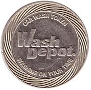 Car Wash Token - Wash Depot (Johnson) – obverse