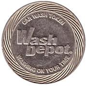 Car Wash Token - Wash Depot (Johnson) – reverse