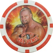 Token - WWE Power Poker Chip (Val Venis) – obverse
